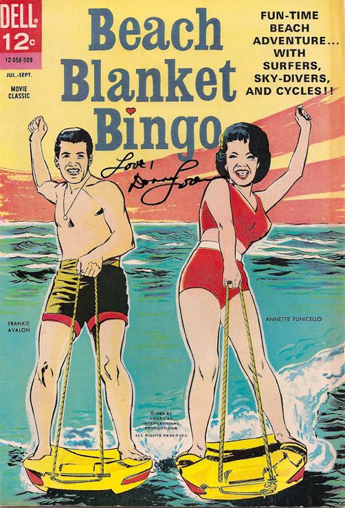 Donna Michelle Beach Blanket Bingo