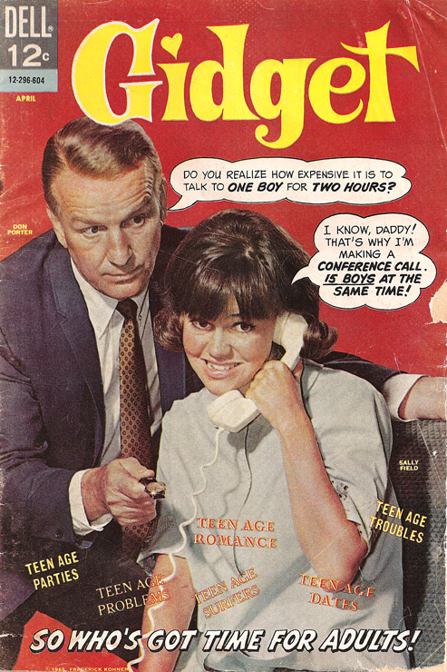 1966 Gidget Comic no.1 cover