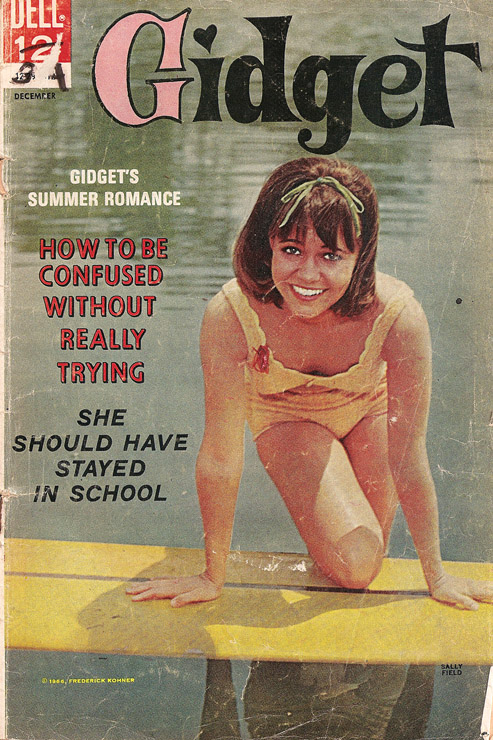 1966 Gidget Comic no.2 cover