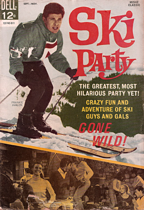 1965 Ski Party Comic cover